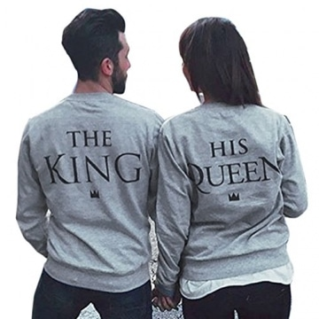 Partner Pullover King und Queen