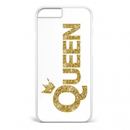 King & Queen Gold / Pärchen Cover Handyhülle * iPhone 5 5S 6 6S Galaxy S5 S6 S7, Hüllendesign:Design 6, Handymodell:Apple iPhone 6 / 6S -