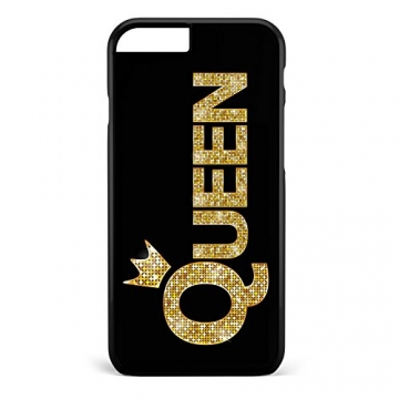 King & Queen Gold / Pärchen Cover Handyhülle * iPhone 5 5S 6 6S Galaxy S5 S6 S7, Hüllendesign:Design 5, Handymodell:Samsung Galaxy S7 Edge -