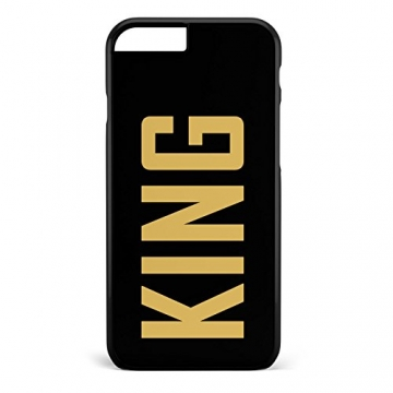 King & Queen / Pärchen Cover Handyhülle * iPhone 5 5S 6 6S Galaxy S5 S6 S7, Hüllendesign:Design 4, Handymodell:Apple iPhone 6 / 6S -