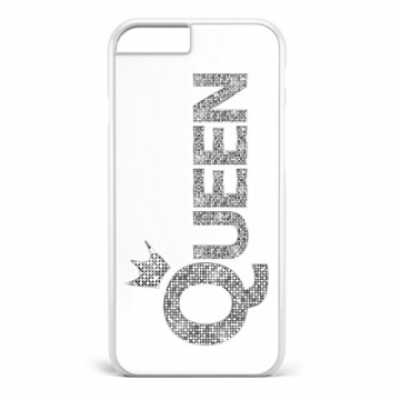 King & Queen Silber / Pärchen Cover Handyhülle * iPhone 5 5S 6 6S Galaxy S5 S6 S7, Hüllendesign:Design 6, Handymodell:Apple iPhone 6 / 6S -