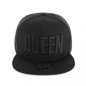 Johnny Chicos Snapback Cap KING, QUEEN, MUSIC, Größe:One Size;Farbe:QUEEN -