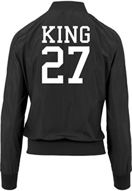 King 27 Bomberjacke Girls Black Certified Freak -
