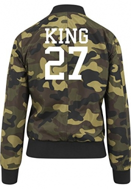 King 27 Bomberjacke Girls Camouflage Certified Freak -