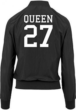 Queen 27 Bomberjacke Girls Black Certified Freak -