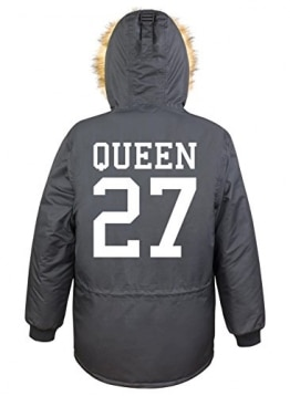 Queen 27 Parka Girls Black Certified Freak -