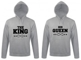 "SE-creation | Partner Look Hoodies ""THE KING"" mit ""HIS QUEEN"" 