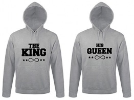king and queen pullover pulli und hoodie partner. Black Bedroom Furniture Sets. Home Design Ideas