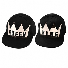 West See Baseball Caps KING & QUEEN Kappen Hut Snapback Partner-Cap (KING & QUEEN) -